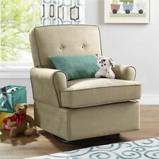 Babyu0026Mother Nursing Chair Soft Relax Tinsley Swivel Glider Rocker Nursery  Beige