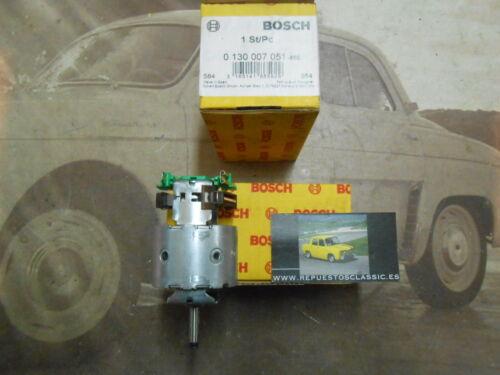 126P2 BOSCH 0130007051 MOTOR ELECTRICO VENTILADOR CALEFACCION MERCEDES-BENZ LK//N