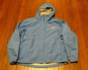 7eb71193d Details about Women's The North Face Hyvent Light Blue Rain Jacket sz M