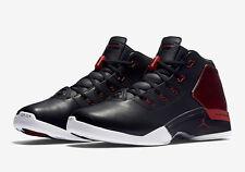 NIKE AIR JORDAN 17 RETRO BULLS SZ 9.5 BLACK GYM RED WHITE Chicago 832816-001