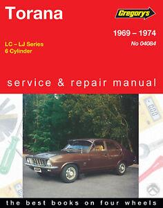 Holden-Torana-LC-LJ-1969-1974-Repair-Manual