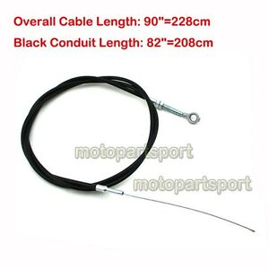 Enhanced 90 Long Throttle Cable 8173 with 82 Casing for Manco ASW GO KART Cart Buggy