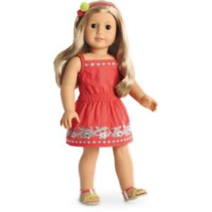 American Girl Doll Sunny Day Dress - New - Excludes Doll