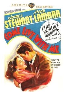Come-Live-with-Me-1940-DVD-James-Stewart-Hedy-Lamarr-Ian-Hunter-New
