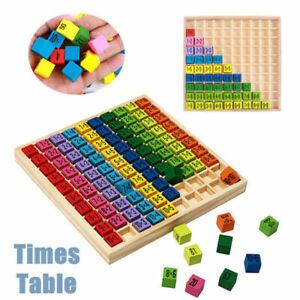 Kids Multiplication Learning Educational Wooden Times ...