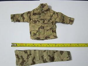 1-6-Scale-Hot-ARMY-Camouflage-Texturing-Uniform-Set-B-For-12-034-Action-Figure-Toys