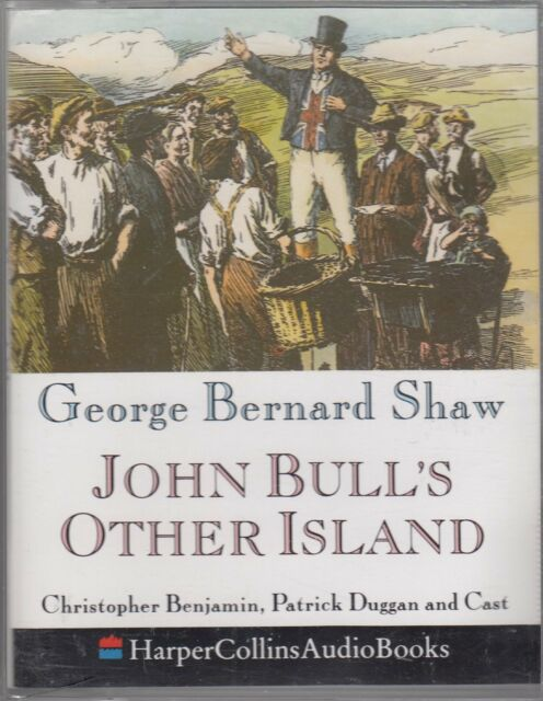 George Bernard Shaw John Bull's Other Island 2 Cassette Audio Book Abridged