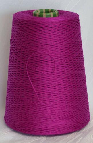 amico 100/% mercerisierte Mako-Baumwolle 25 EUR //Kg Häkeln pink Lineapiu LL 400m