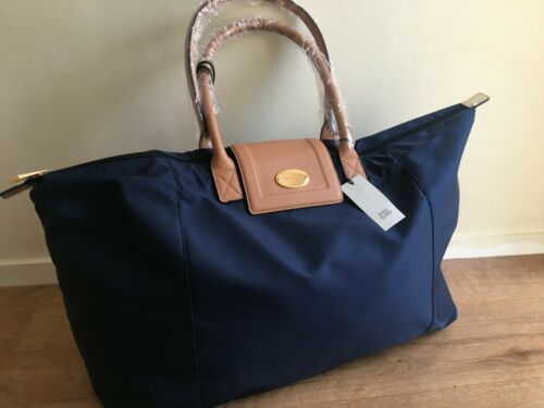 RIVER ISLAND  SOFT RI WEEKEND GYM TRAVEL BAG navy  new WITH TAGS