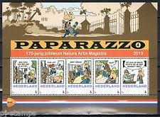 Nederland 3012 Postzegelvel Paparazzo 4 175 jaar Artis