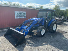 2016 New Holland Boomer 41 4x4 41hp Compact Tractor With Cab Amp Loader Only 600hrs