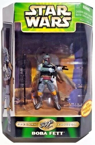 Star wars  boba fett  300 - actionfigur sonderausgabe nib