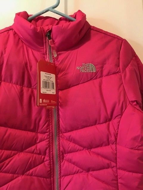 d49005ca5 The North Face Girls Andes 550 Down Fill Jacket Large Pink