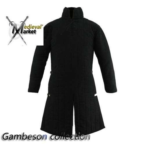 Thick Padded full length Medieval armor Gambeson play movies theater custom A18