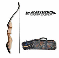 Fleetwood Sparten Take Down Recurve Bow 45# Compact Case Package Left Handed
