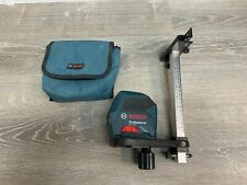 Bosch Self Leveling Cross Line Red Beam Laser Level Gll 55 With Mount
