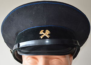 Soviet-Union-Russian-USSR-Army-Military-Technical-Forces-Visor-Hat-Peaked-Cap