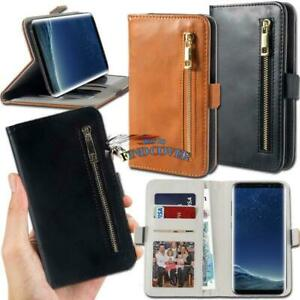 For-Samsung-Galaxy-S-1-2-3-4-5-6-7-Phones-Flip-Cover-Stand-Wallet-Leather-Case