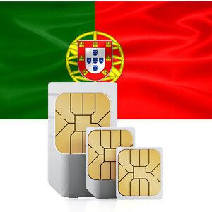 Portugal Daten SIM Karte + 1000 MB für 30 Tage - Prepaid ...