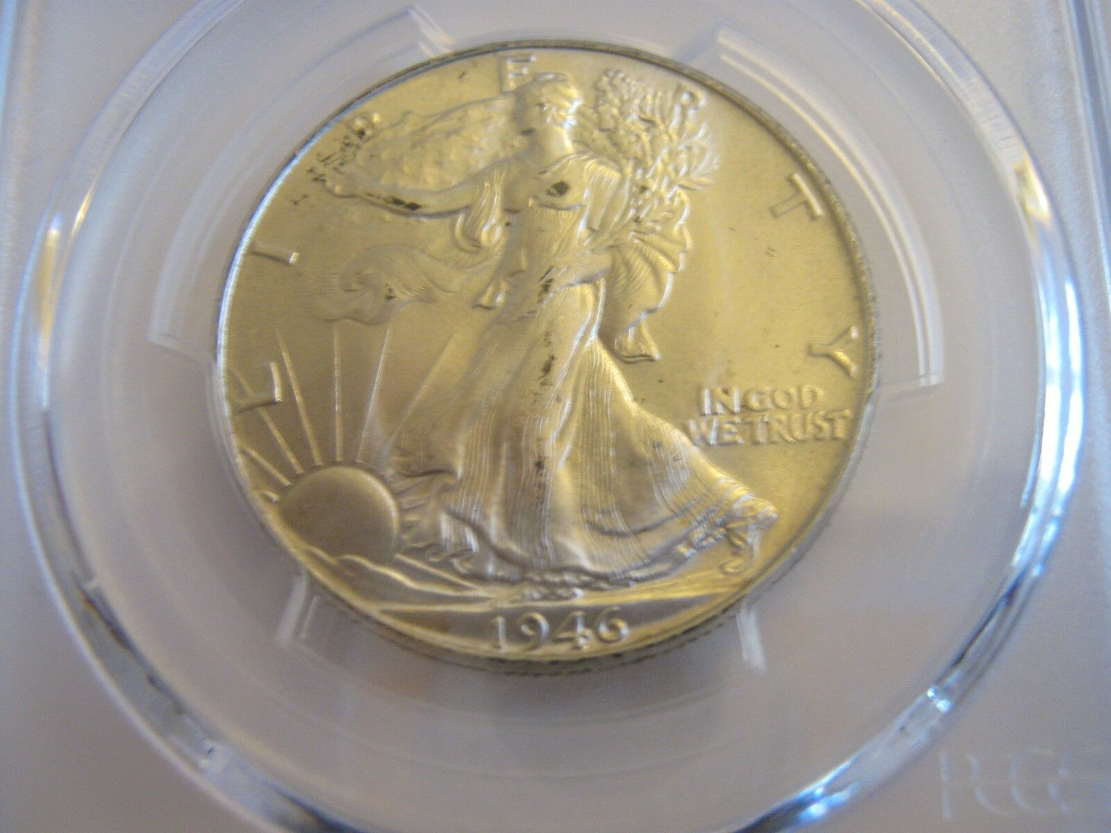 1946 , Walking Liberty Half Dollar , PCGS , MS 65