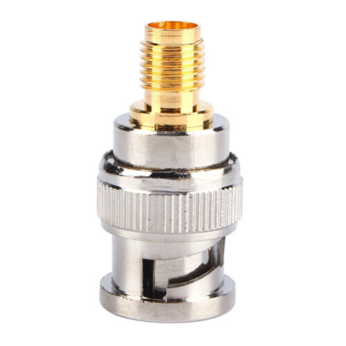 Adapter BNC Plug Male to SMA Female Jack RF Connector Straight
