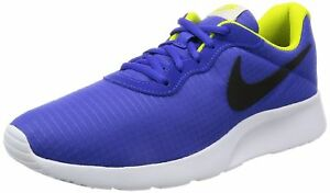 competitive price 19740 4c03c Image is loading NIKE-Men-039-s-Tanjun-Sneakers-Breathable-Textile-