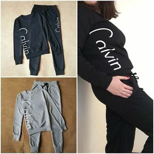 New-Women-Ladies-letter-Tracksuit-Set-2pcs-Tops-Pants-Suit-Sweatshirt-Sweater