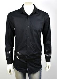 True-Religion-Men-039-s-149-Collegiate-Loose-Fit-Shirt-Jacket-MSGBG8BR4