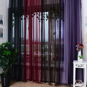 Voile-Tulle-Door-Window-Curtain-Balcony-Drape-Panel-Sheer-Scarfs-Valances-1-2m