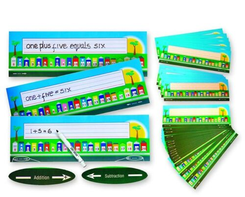 Subtract Eduk8 1 To 20 Math/'s Number Street Pack 36 Add Great Number Lines