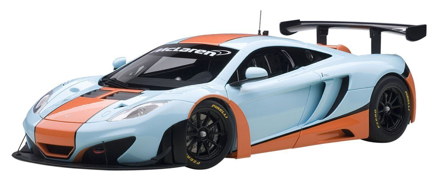 81343 McLaren mp4-12c gt3 Gulf, 1 18 AUTOart
