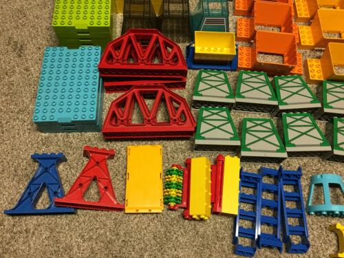 lego duplo bridge support ladder train base road station wash brick block