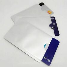 10 RFID Blocking Credit Card Secure Sleeve Protector Shields for ID/Payment Card