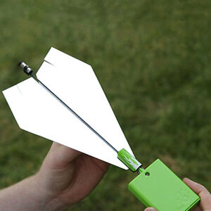 Kids-Power-Up-Electric-Paper-Plane-Airplane-Conversion-Kit-Educational-Toy-Gift