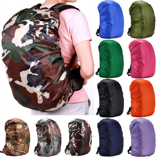 Regenschutz Regenhülle für Rucksack Schulranzen Regenüberzug Wasserdicht 35 70L