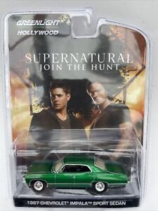 CHASE Supernatural Join The Hunt Chevrolet Impala model car GREEN 1:64th 44692