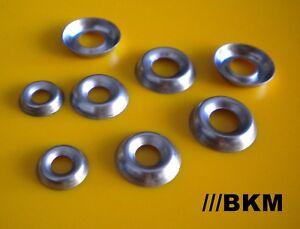 Rosetten Scheiben für Senkschrauben Edelstahl A4 rostfrei M3 M4 M5 M6 M8