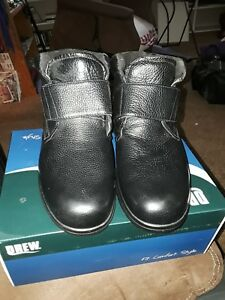 a41ab1eabc9f Details about Drew Shoes Big Easy - Men's Therapeutic Diabetic Extra Depth  Boot 10.5 6E