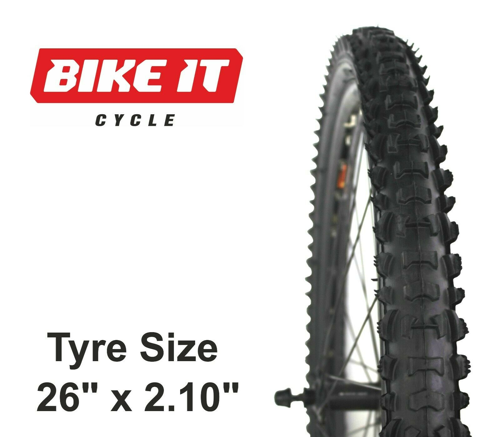 "20/""x 2.10/"" Ridge Crest Wanda BMX Bike Tire Bicycle Bike Freestyle Black P1320"