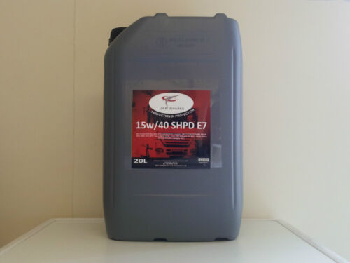 Volvo 15w/40 E7 SHPD Mineral Based Engine Oil Meets Volvo VDS- 3 Spec 20Ltr