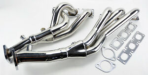 Details About Performance Exhaust Manifold Headers Fits Bmw E46 E39 Z4 01 06 2 5l 2 8l 3 0l L6