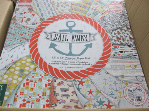 Première édition papier packs 12 x 12-rose garden-floral pavilion-sail away