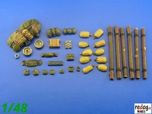 1-48-M4-Sherman-tank-arrimage-Kit-modelling-accessories