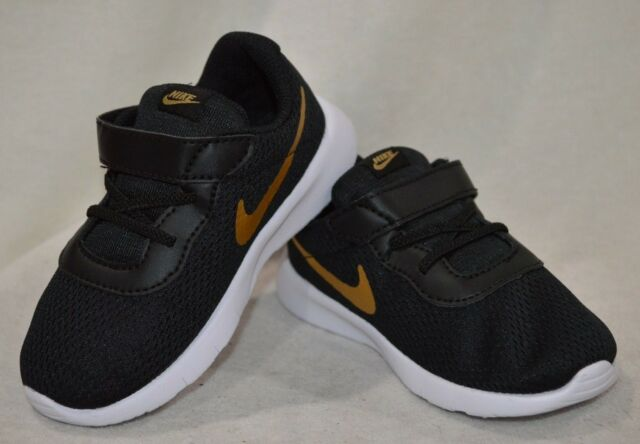 Nike Tanjun (TDV) Black/Gold/White