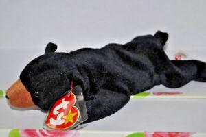 2019 Nouveau Style Ty Beanie Baby Blackie-afficher Le Titre D'origine DéLicieux Dans Le GoûT
