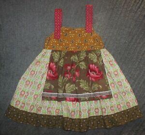Matilda-Jane-Girls-ART-FAIR-Knot-Dress-Size-6-EUC