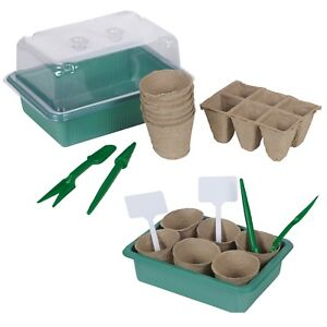 10 x Seed Growing Propagator Starter Kit Greenhouse Tools