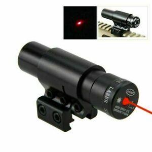 Red Dot Laser Sight Scope 11//20mm Rail Mount For Gun Rifle Pistol Hunting Hot