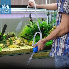 Aquarium Mulmglocke Bodenreiniger Mulmsauger Ansaugpumpe Schlammsauger Neu