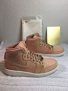 4f12768050f NIKE AIR JORDAN 1 PINNACLE VACHETTA TAN MEN SIZE 11 NEW 705075 201 ...